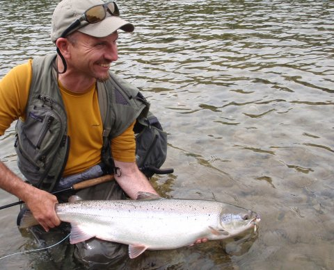 Dry fly salmon